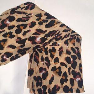 Pants - NWOT CheetahPrint Pants/Elastic waistband/wide leg